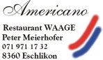 Restaurant WAAGE - Eschlikon, Switzerland